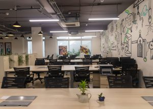 coworking office space golf course road